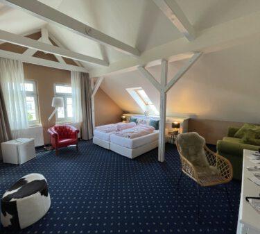 Zimmer 12 Doppelbett