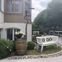 Innenhof Villa Baltia Foto 5