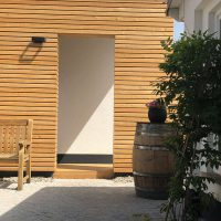 Innenhof Villa Baltia Foto 8